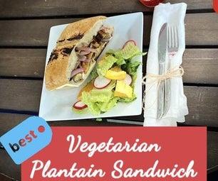 Vegetarian Plantain Sandwich