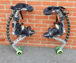 Powerisers  Powerbocking  Jumping Stilts   -  Off Road Powerbocking Mods