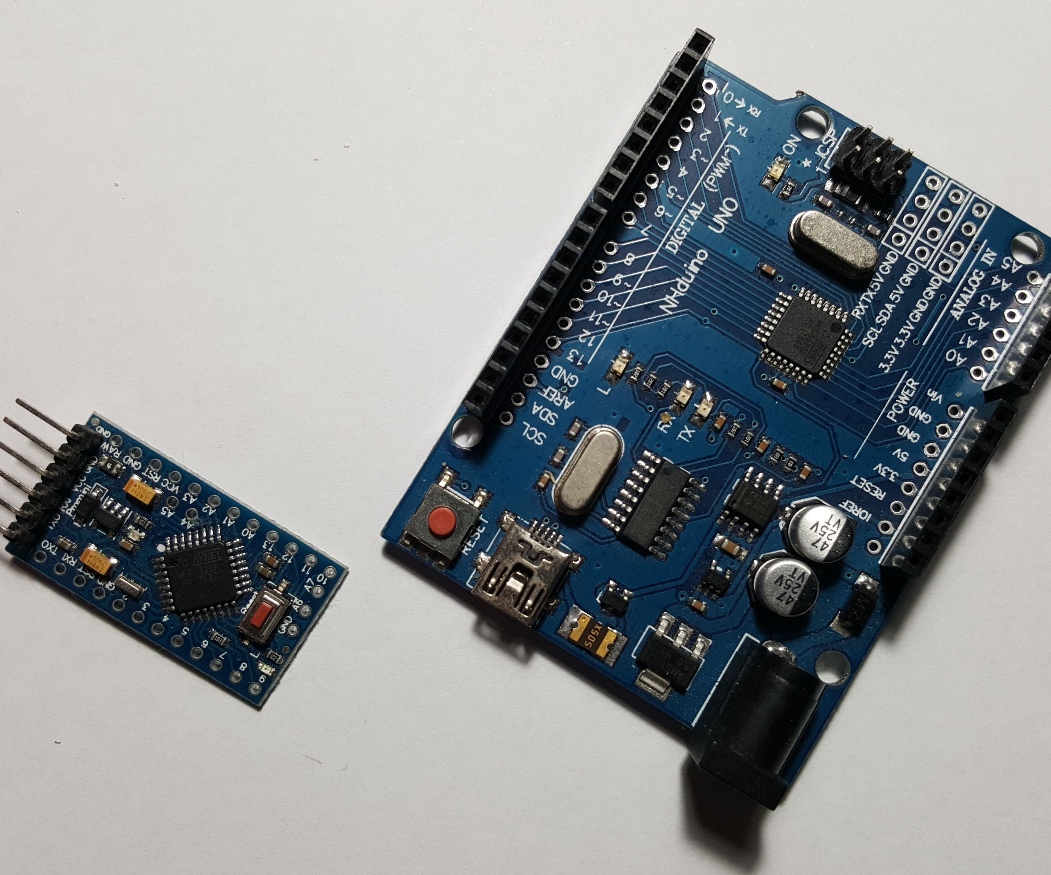 How to Program an Arduino Pro Mini With Arduino Uno SMD or DIP
