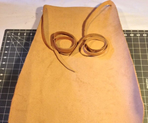 A No-Sew Leather Apron - It's Simple & Quick!