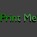 How To 3D Print Text