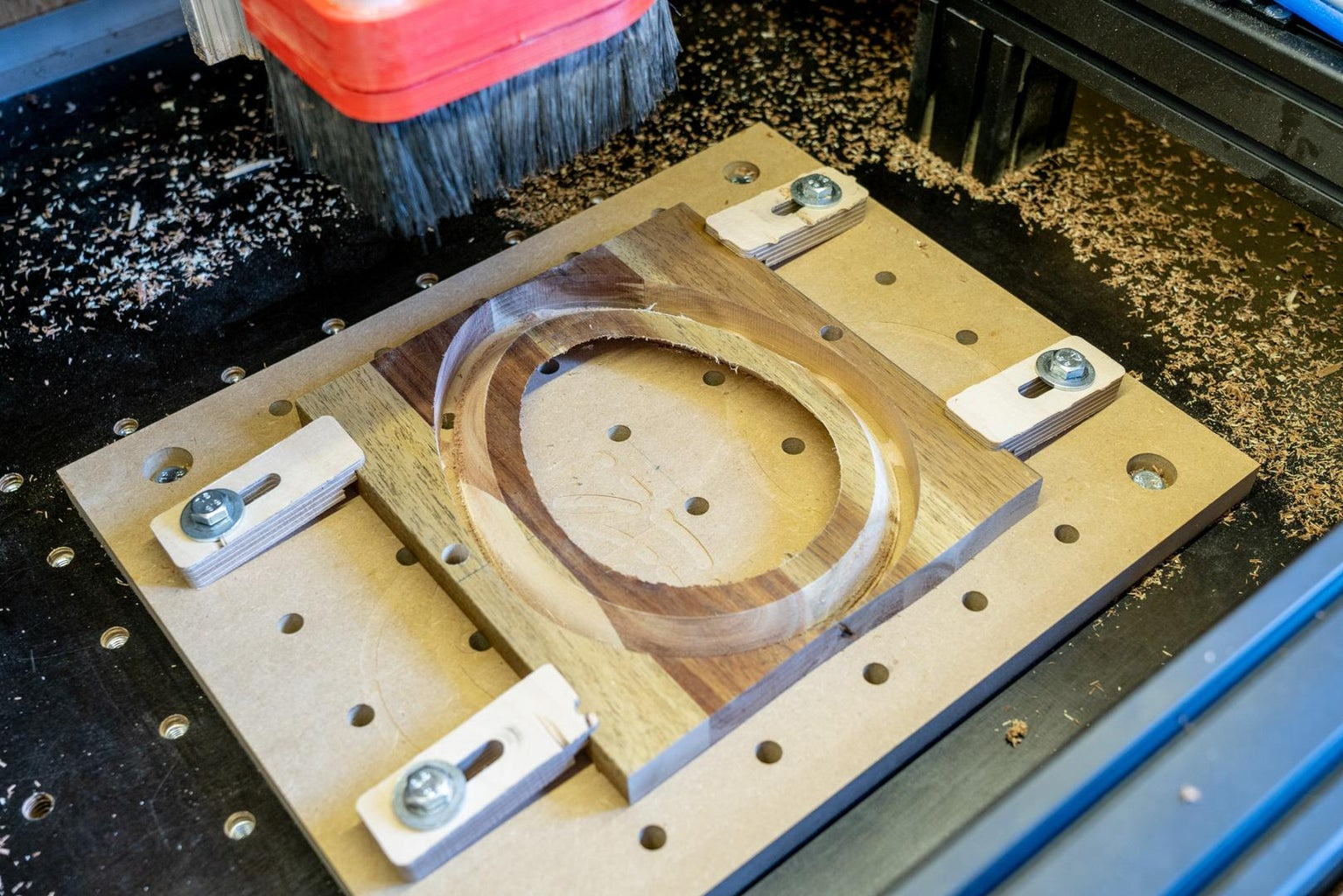 Machining of the Egg-slices