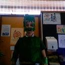 Cardboard halo master chief armour