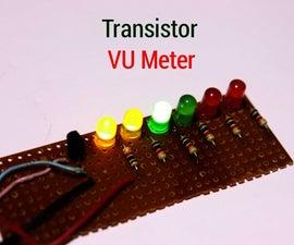 How to Make VU Meter Using Transistor