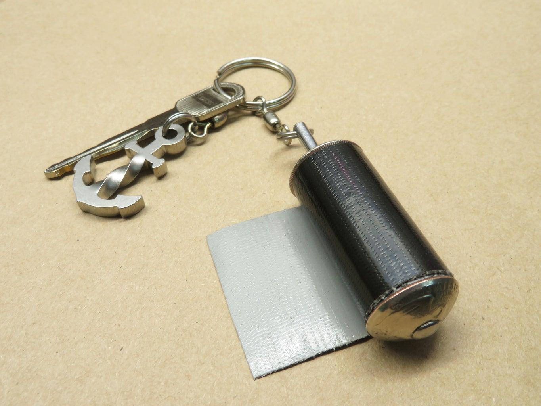 EDC Duct Tape Keychain
