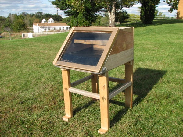 Solar Food Dehydrator (Dryer)