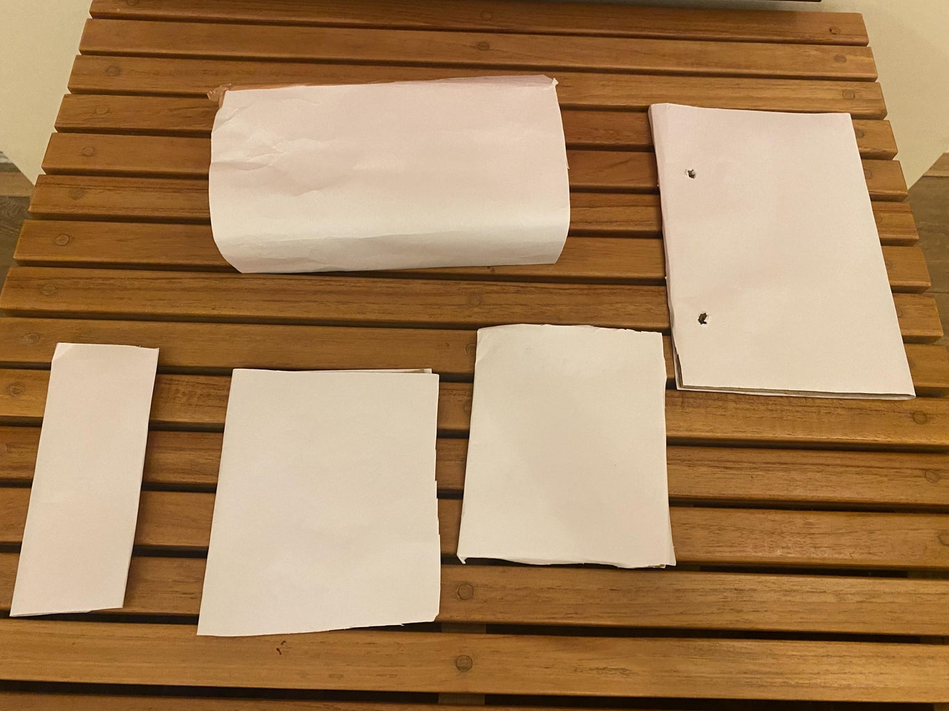 Cover the Cardboard in Paper