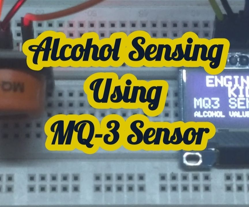 Alcohol Sensing Using MQ-3