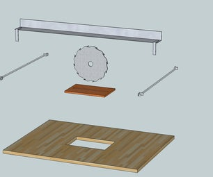 Convert Hand Saw to Table Saw