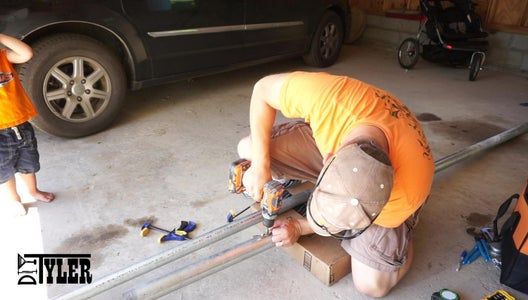 Making the Flag Pole: Cleat