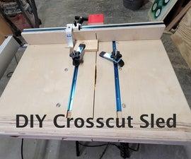 Easy Heavy Duty Crosscut Sled