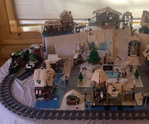 Christmas Village Display 2020