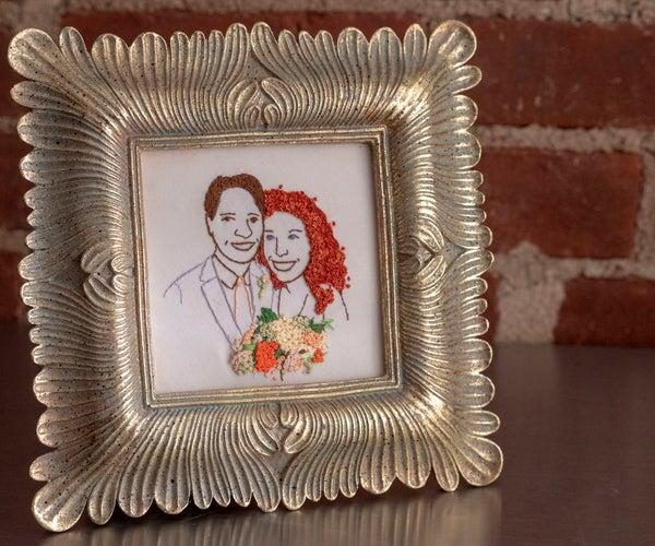 Wedding Portrait Embroidery