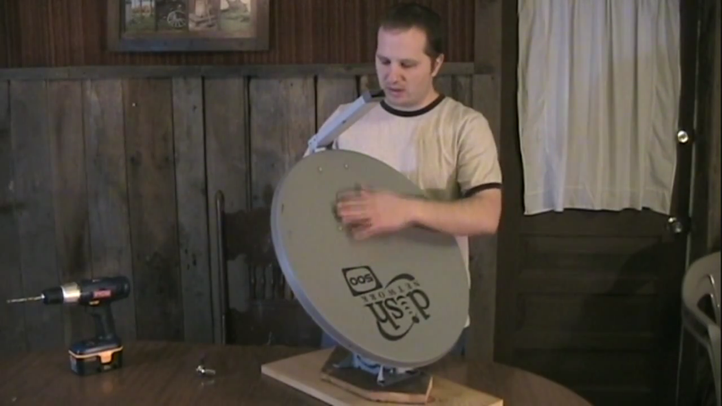 How to make a solar cooker from a satellite dish
