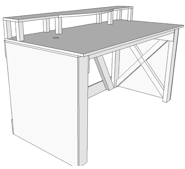 How to Make a Standing Desk and Music Workstation