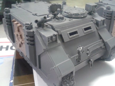Pre-Heresy Thousand Sons Rhino/Razorback/Predator Doors