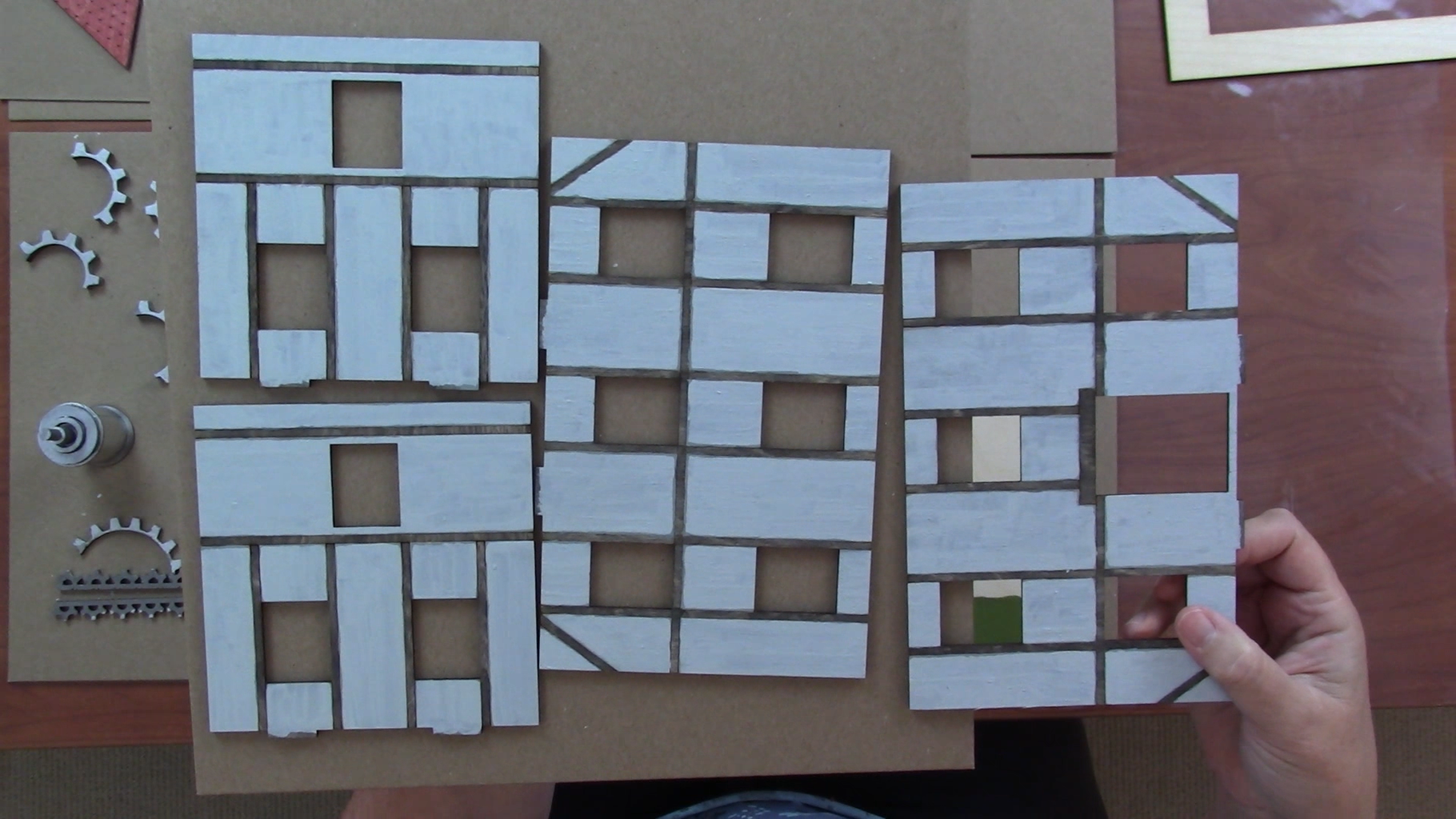 Laser Cut and Paint the Components