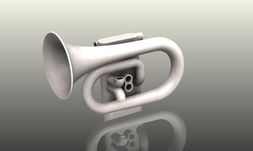 3D Modeling of the Printable Cornet
