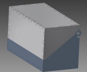 SquarePeg-RoundHole-Hinge : Testing With Autodesk Inventor