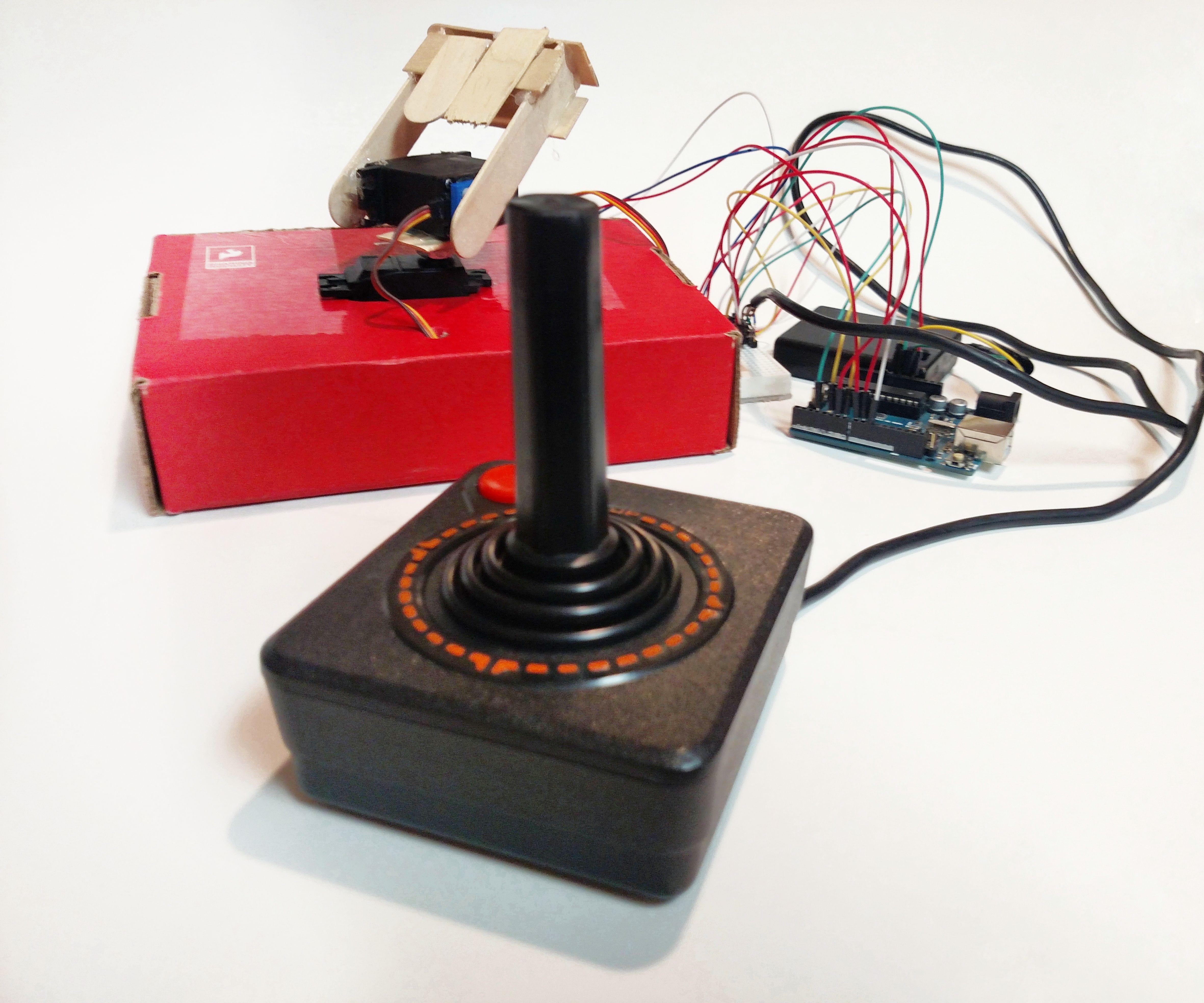 Arduino Retro Game Controller (Atari)
