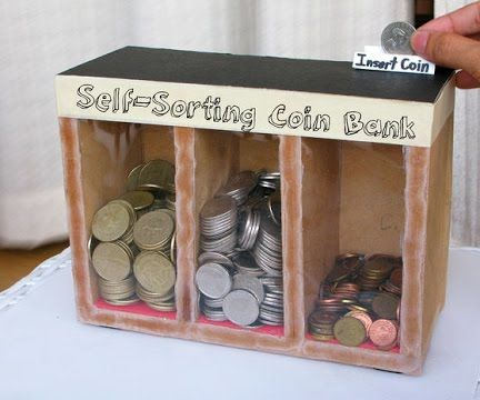 How to Make Coin Sorter Machine