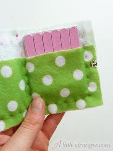 Handbag Nail File Case