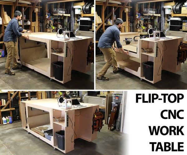 Flip-Top CNC Table
