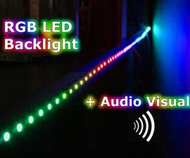RGB Backlight + Audio Visualizer