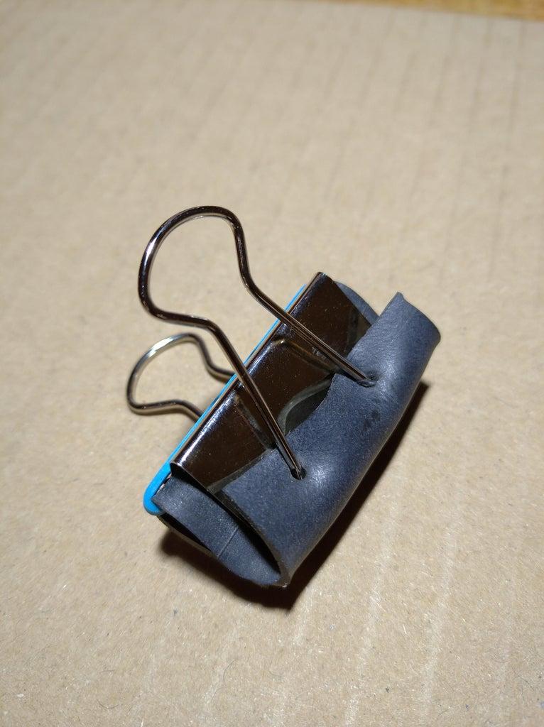 Leather Workshop Binder Clips (two Minutes Hack)