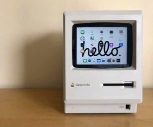 触摸屏Macintosh |经典Mac,屏幕配有IPad Mini