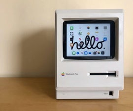 Touchscreen Macintosh | Classic Mac With an IPad Mini for the Screen