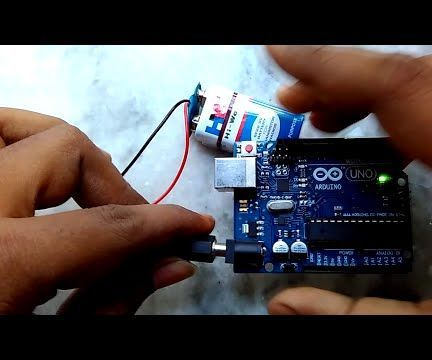 How to Make a Safe Power Supply for Arduino With 9 Volt Battery