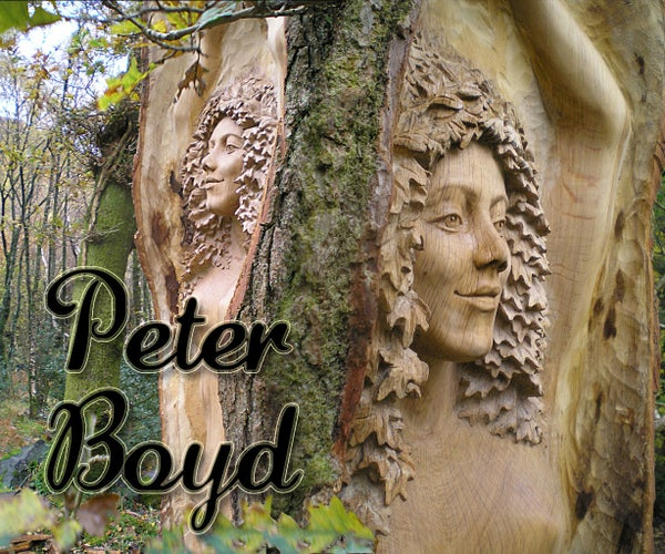 Wood Carving the Female Form With Peter Boyd Woodcarving