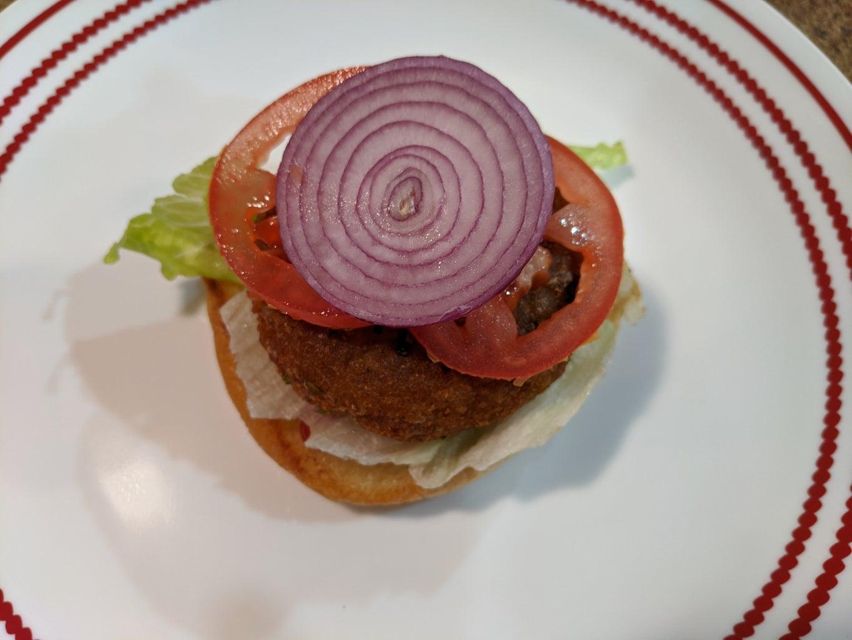  for Veggie Burger :
