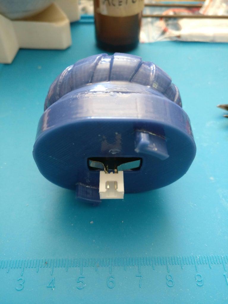 Pommel Assembly Step 3: