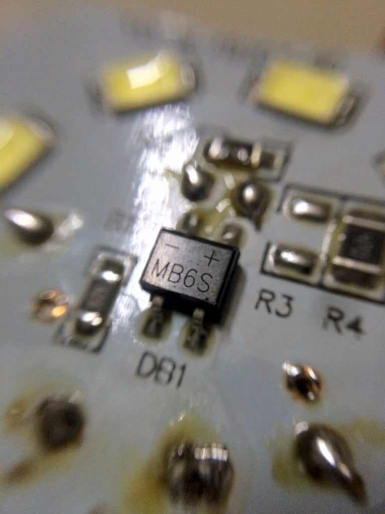 Disassembling the LED Light