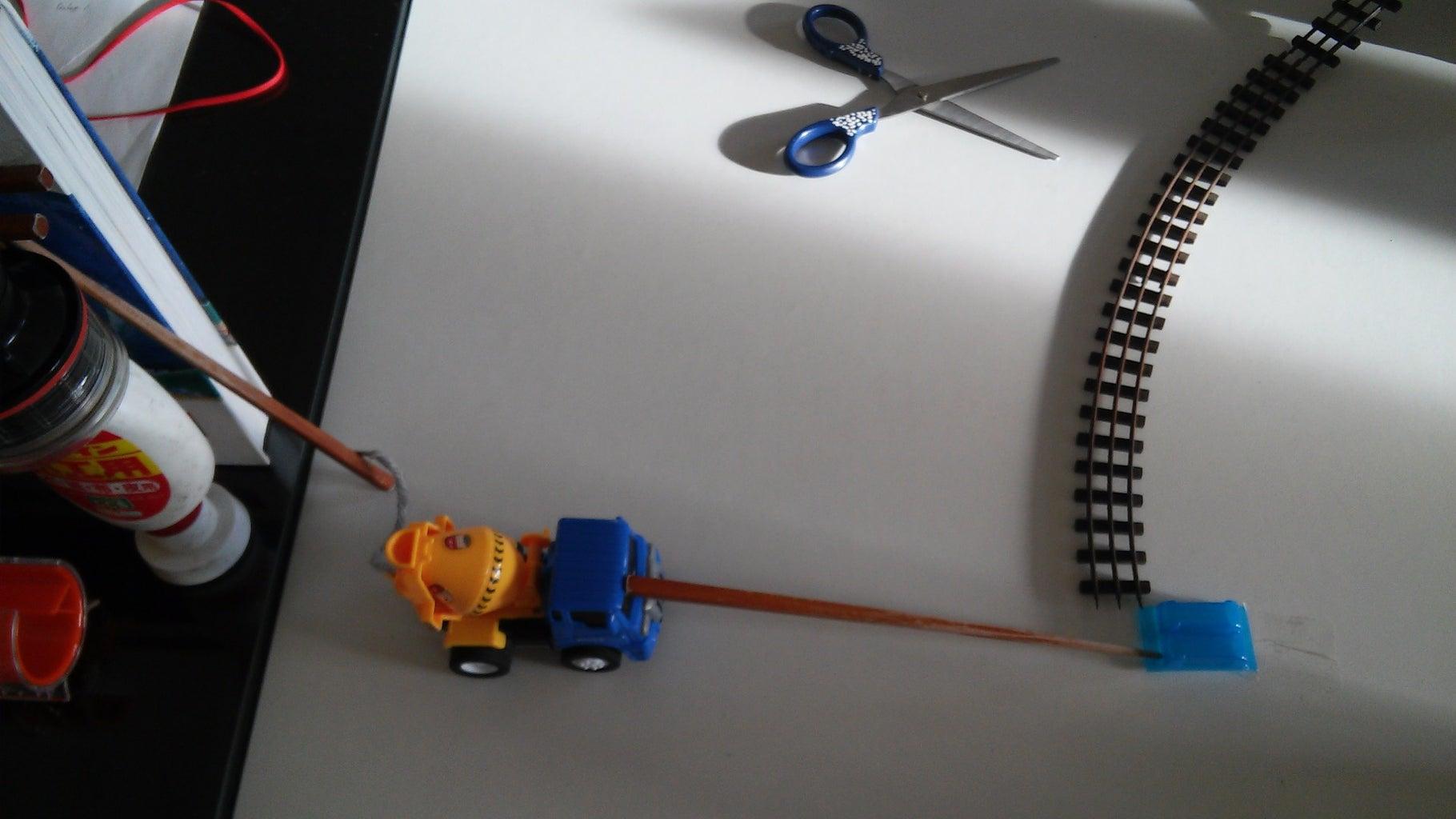 Building My Rube Goldberg Machine-step 2