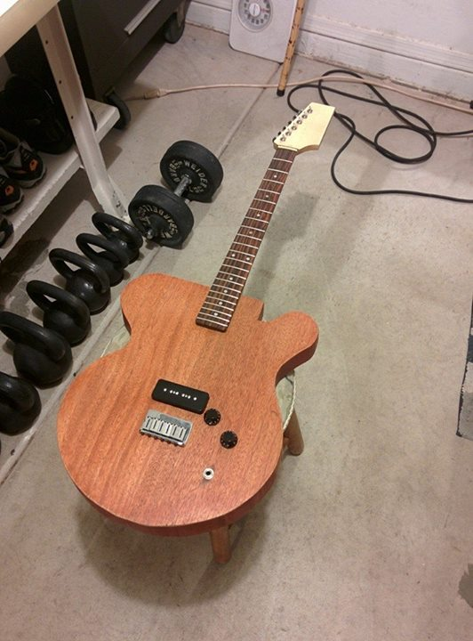 Make your very first guitar!