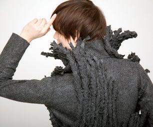 Micro Wool Coat