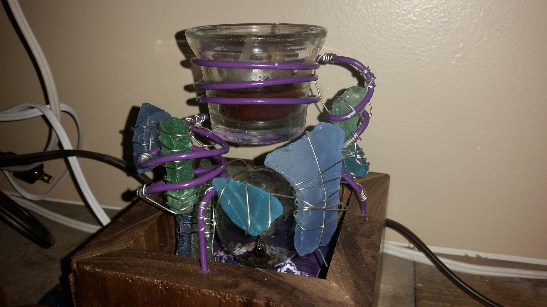 Sea Glass and Jewelry Wire