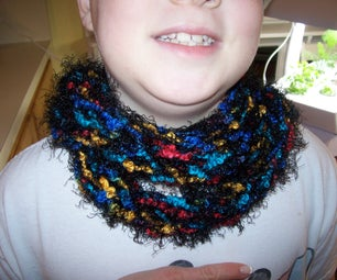 Joeys Amazing Scarf of Many Colors!