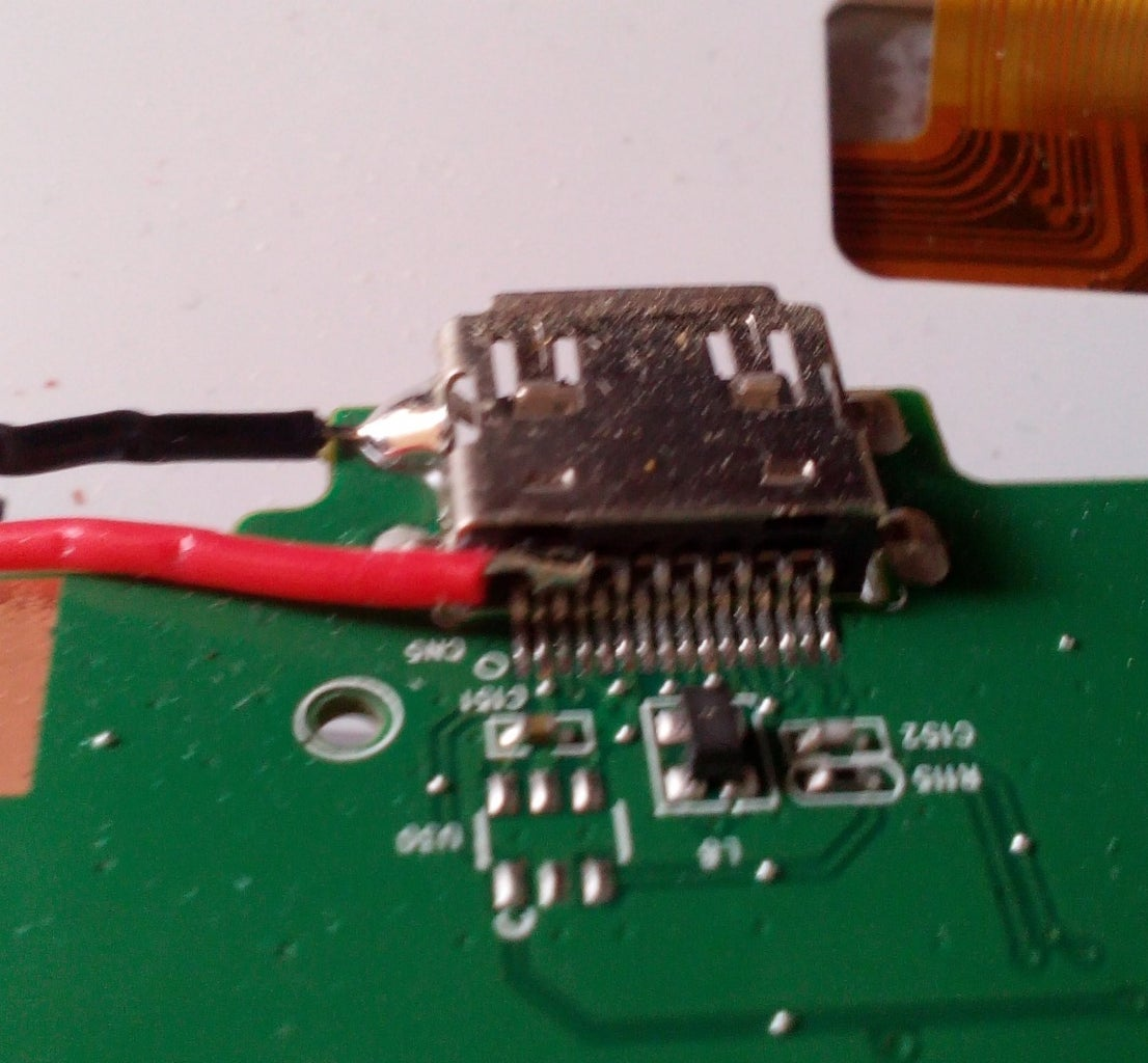 Solder the Wires to the Board