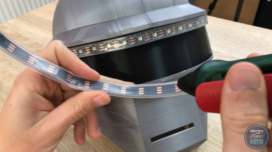 Prepare and Fit the LED Neopixels:
