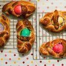 How to: Easter Egg Bread Baskets