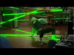 Easy Laser Obstacle Course