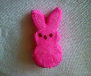 How to Make a Peeps-nut Bunny Sandwich