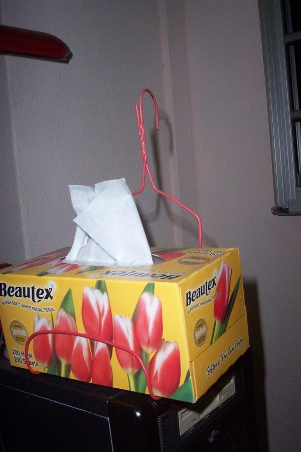 Tissue Box Hanger