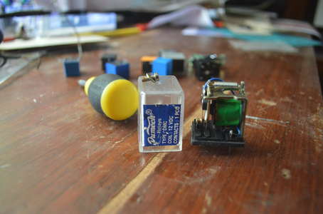 Parts & Design of a Relay