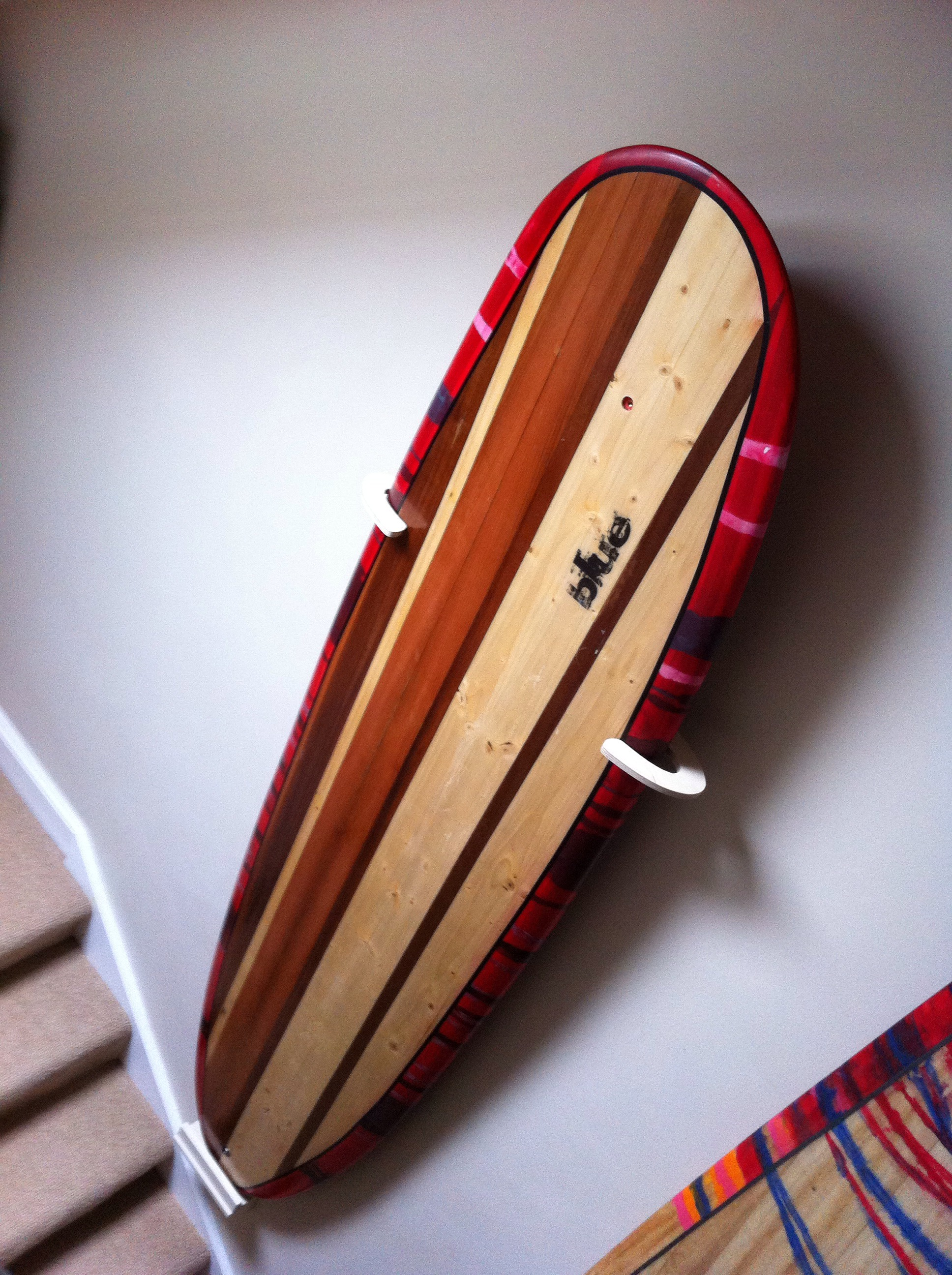 Hollow Wooden Surfboard - my Magic Carpet