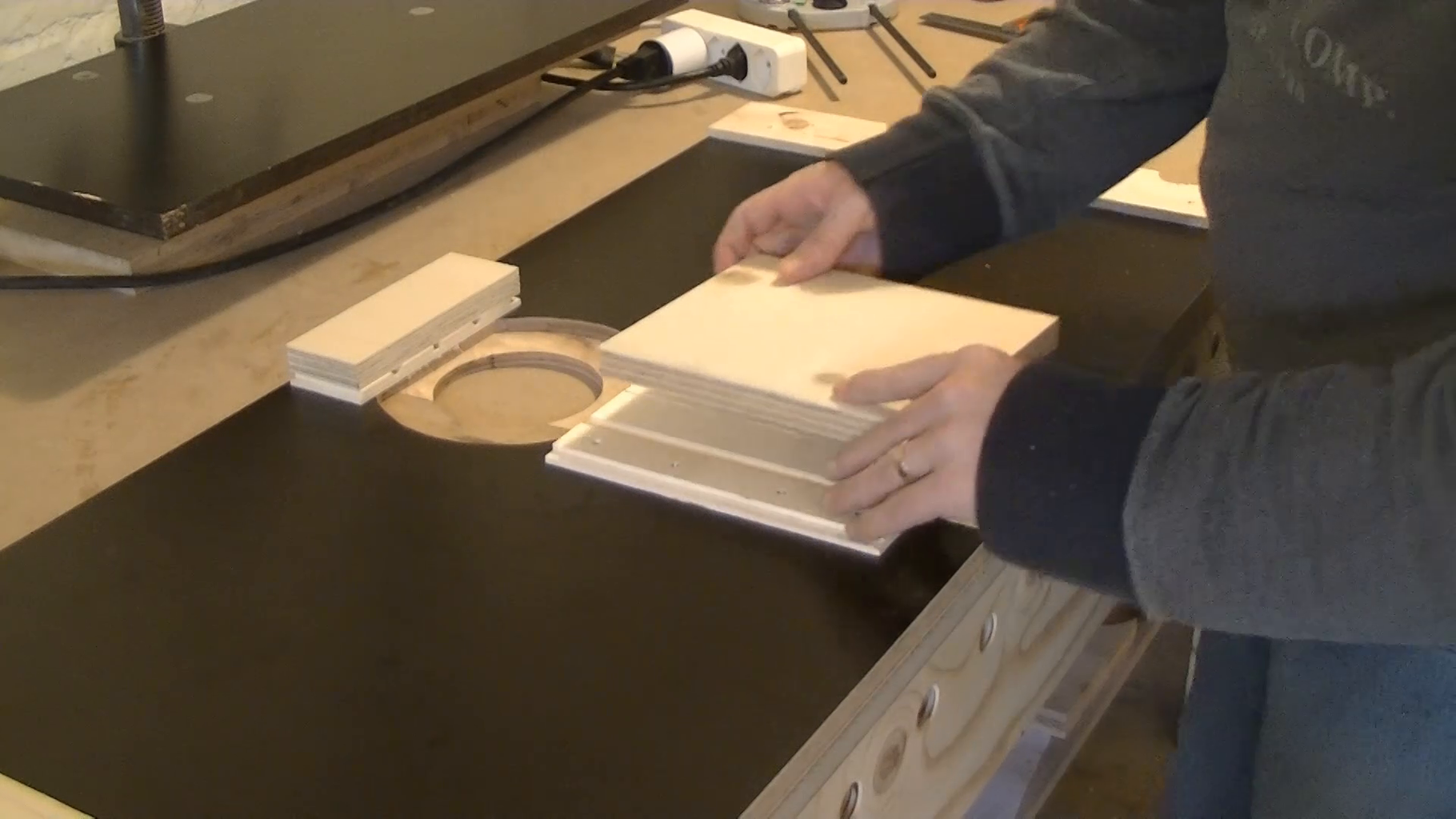 Clamping Boards for the Fastening System
